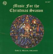 Earl Miller Improvises Music for the Christmas Season