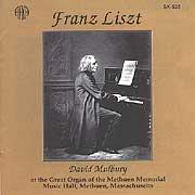 Franz Liszt - David Mulbury - Methuen Memorial Music Hall