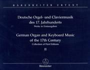 German Keyboard and Organ Music of the 17th Century, Vol. II