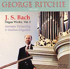 George Ritchie Plays Bach, Vol. 1