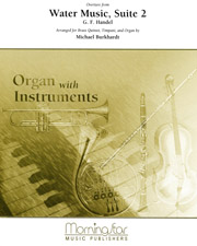 Handel: Overture to Water Music, Suite 2 for Brass Quintet and Organ