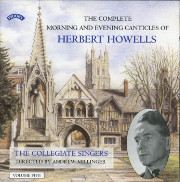 Howells Morning and Evening Canticles, Vol. 5