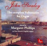 John Stanley: The Complete Organ Voluntaries