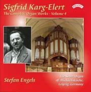Karg-Elert Complete Organ Works, Volume 4