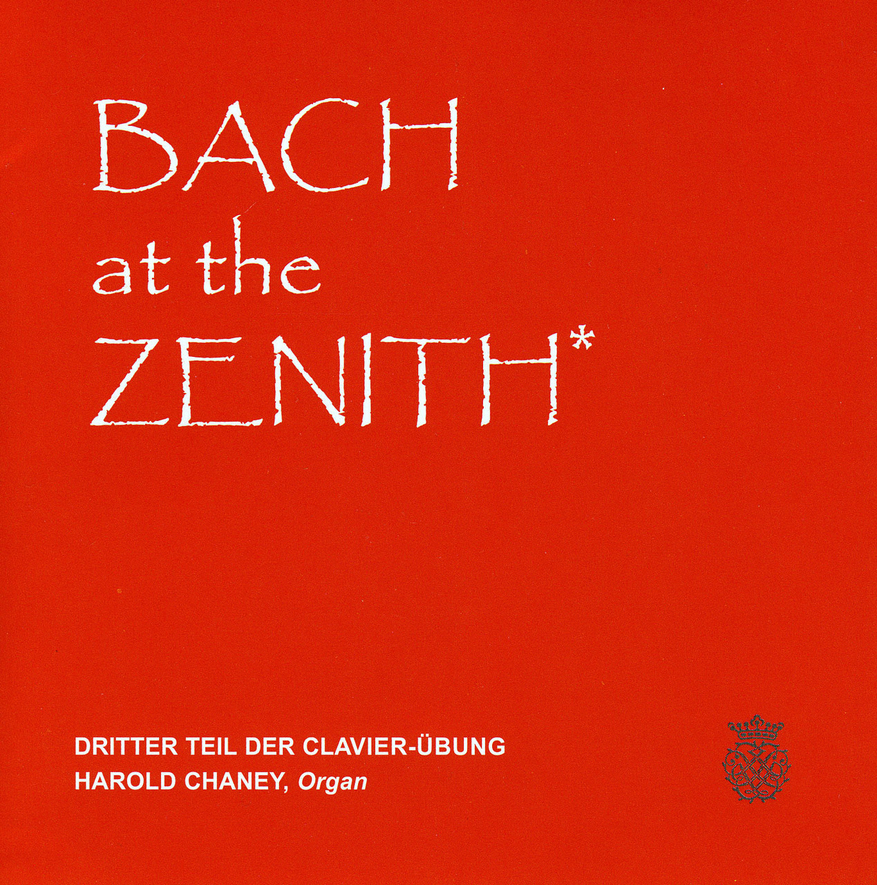 Bach at the Zenith