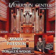 Mary Preston at the Meyerson Vol. I