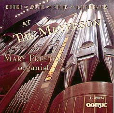 Mary Preston at the Meyerson Vol. II