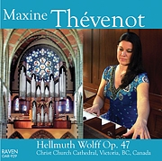 Maxine Thévenot Plays in Christ Church Cathedral
