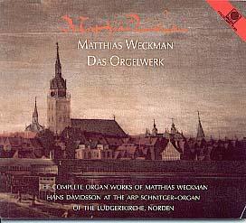 Matthias Weckmann for Organ, Complete