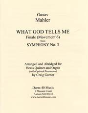 Mahler: What God Tells Me