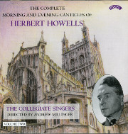 Howells Morning and Evening Canticles, Vol. 2