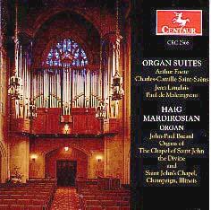 Organ Suites: Haig Mardirosian