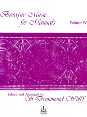 Baroque Music for Manuals, Vol. 4