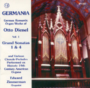 Organ Works of Otto Dienel, Volume 1