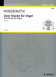 Hindemith, Paul: Two Pieces for Organ