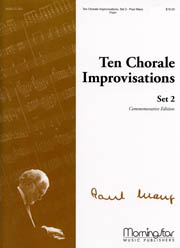Manz, Paul: Ten Chorale Improvisations: Set 2