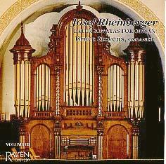 Rheinberger Sonatas Vol. 3