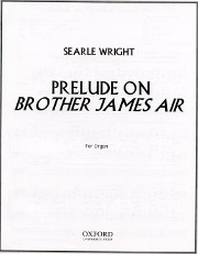 """Wright, Searle: Prelude on """"Brother James's Air"""""""