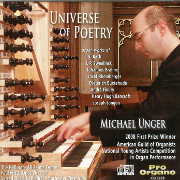 Universe of Poetry: Michael Unger Plays the New Fritts, Opus 26