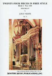 Vierne: 24 Pieces in Free Style, Book 1, Nos. 1-12