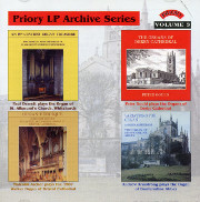 Vol. 3 Organs at Bristol & Derby Cathedrals; Dunfermline Abbey; Whitchurch
