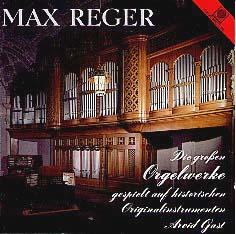 Vol. 1 Reger Organ Works on 121 Ranks