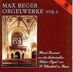 Vol. 4 Reger Organ Works on 87 ranks