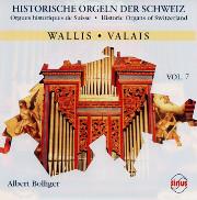 Historic Organs of Switzerland, Vol. 7