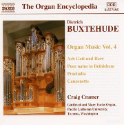 Buxtehude Organ Music, Vol. 4