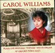 Carol Williams at Oxford Town Hall