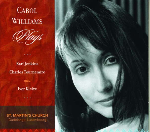 Carol Williams Plays! at St. Martin's Church in Dudelange, Luxembourg