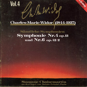 Charles Marie Widor Vol. 4: Symphonie Nr. 4 and Nr. 6