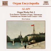 Alain Organ Works, Vol. 2 (8-553633)