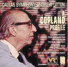 Copland Symphony for Organ & Orchestra