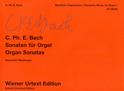 Bach, CPE: Complete Works for Organ I