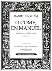 Pinkham: Seven Variations on O Come, Emmanuel