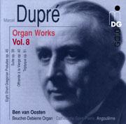 Dupre Organ Works Vol. 8