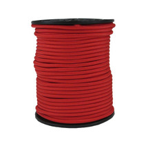 "1/4"" Polyester Bungee Red"