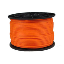 "1/8"" Polyester Rope Neon Orange"