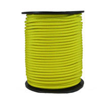"1/4"" Polyester Bungee Yellow"