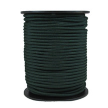 "1/4"" Polyester Bungee Hunter Green"