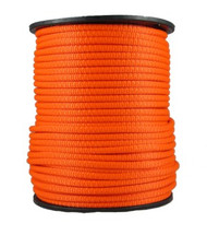 "3/8"" Neobraid Polyester Rope Neon Orange"