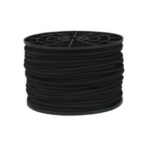 "3/16""  Polyester Bungee Black"