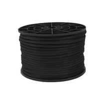 "3/16"" Kevlar Cord with Polyester Jacket Black"