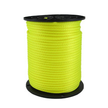 "Neobraid Polyester Rope 1/4"" Neon Yellow"