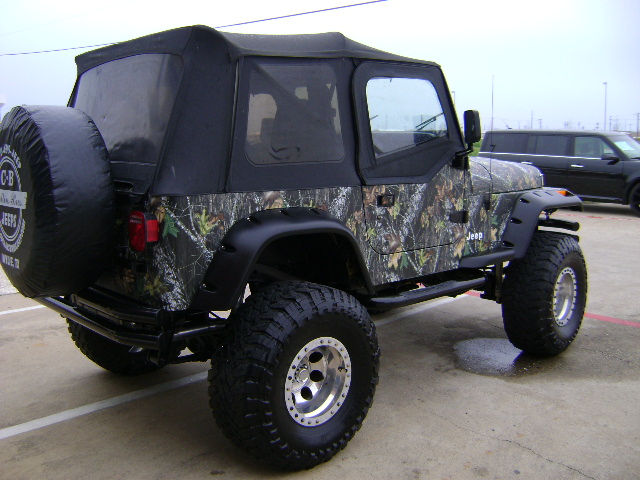 White Camo Jeep : Custom built jeeps