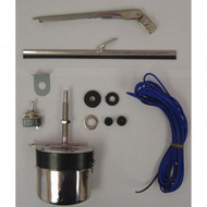 '59-'71 CJ/Willys 12V Stainless Steel Wiper Motor Kit