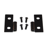 '76-'06 CJ/YJ/TJ/LJ Black Lower Door Hinges (Pair)