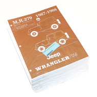 '87-'88 YJ Service Manual (Body/Chassis)