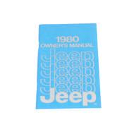 1980 CJ/Cherokee/Wagoneer/Truck Factory Owners Manual